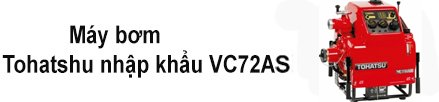 Bơm Tohatsu nhập khẩu VC72AS thumbnail